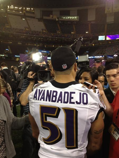Brendon Ayanbadejo's Agent