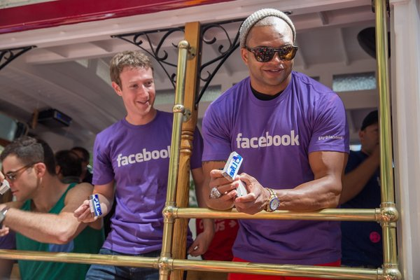 Mark Zuckerberg Brendon Ayanbadejo