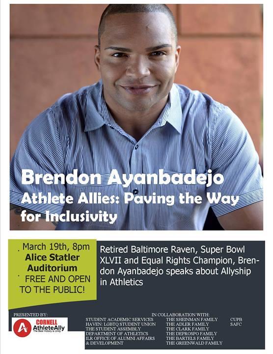 Brendon Ayanbadejo Athlete Ally